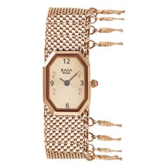 Titan Raga Masaba Rose Gold Dial Analog Watch for Women