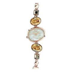 Raga I Am Mother of Pearl Dial Analog Watch for Women