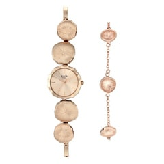 Raga I Am Rose Gold Dial Analog Watch for Women