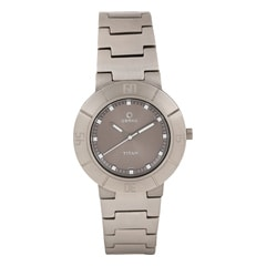 Titan Grey Dial Analog Watch For Women-9918TM01