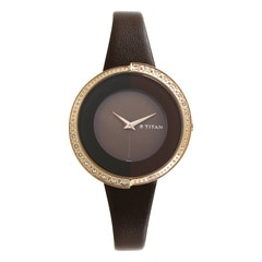 Titan Purple Analog Watch For Women-9943WL02