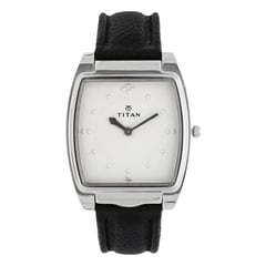 Titan Silver Men Watch NB1854SL01