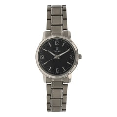 Titan Purple Black Dial Watch For Women-NB9885TM01