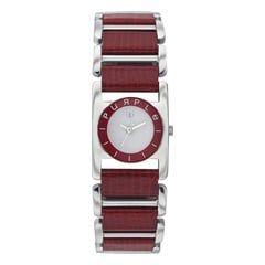 Titan White Dial Analog Watch For Women-NC9865SH01