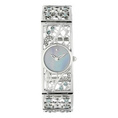 Titan Blue Dial Analog Watch for Women-ND9932SM01