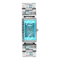 Titan Blue Dial Analog Watch For Women-NE2508SM03