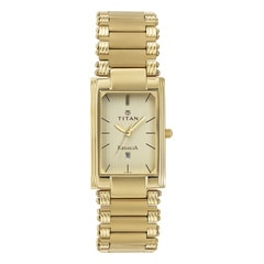 Titan Champagne Dial Analog Watch For Men-NF1234YM02