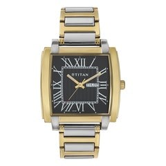 Titan Regalia Black Dial Analog Watch for Men-NF1586BM02