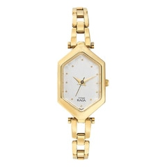 Titan White Dial Analog Watch For Women-NF2453YM04