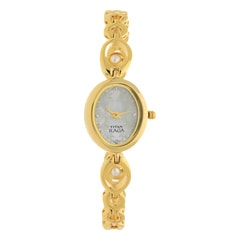 Titan Mother Of Pearl Dial Analog Watch For Women-NF2511YM02