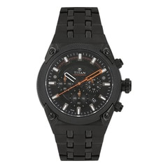 Titan Black Dial Analog Watch For Men-NF90030NM01