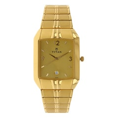 Titan Champagne Dial Analog Watch For Men-NF9264YM02A