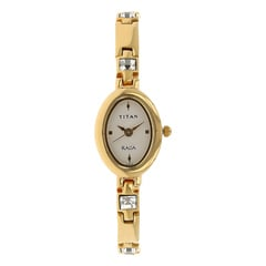 Titan White Dial Analog Watch For Women-NF9717YM01A