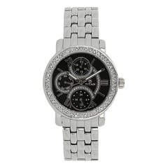 Titan Silver Dial Analog Watches for Women