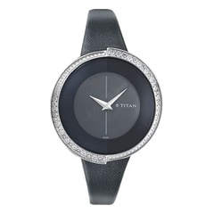 Titan Black Dial Analog Watch for Women-NF9943SL01