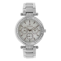 Titan Mother Of Pearl Dial Analog Watch for Women-NF9965SM01J