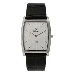 Titan Edge Silver Dial Analog Watch for Men-NG1044SL01