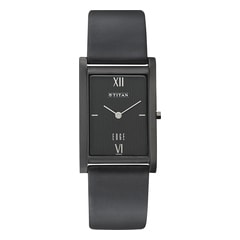 Titan Black Dial Analog Watch For Men-NE1043NL01