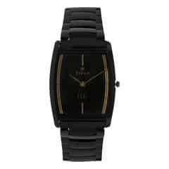 Titan Black Dial Analog Watch For Men-1044NM01