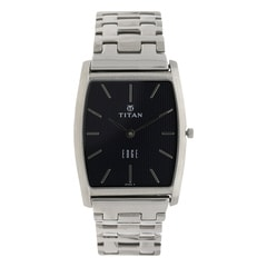 Titan Edge Blue Dial Analog Watch for Men