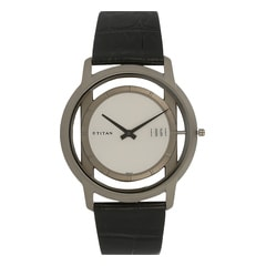 Titan Edge Silver-White Analog watch for Men