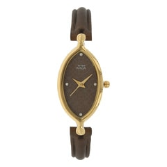 Titan Burgundy Dial Analog Watch For Women
