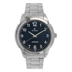 Titan Blue Dial Analog Watch for Men