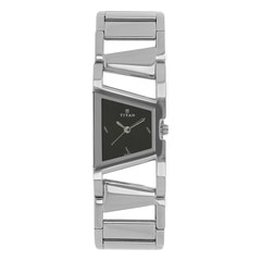 Titan Black Dial Analog Watch for Women