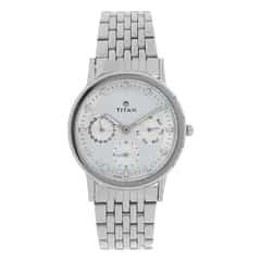 Titan Silver Dial Analog Watch for Women