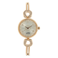 Titan Raga Silver Dial Analog Watch for Women