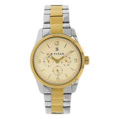 Titan Champagne dial Multifunction Watch for Men