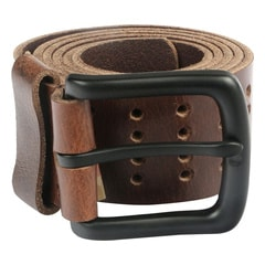 Titan Brown Leather Casual Belt For Men-TB105LM1DBS