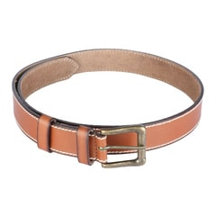 Titan Tan Leather Belt For Men-TB106LM1TNM