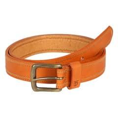 Titan Tan Cow Oily Leather Belt For Men-TB108LM1TNM