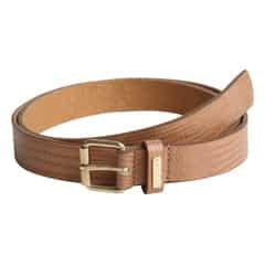 Titan Snake Print Brown Leather Belt For Women-TB108LW1BGL