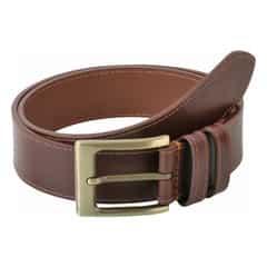 Titan Brown Leather Belts for Men