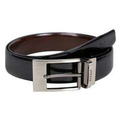 Titan Black Formal Leather Belt For Men-TB149LM1R2M