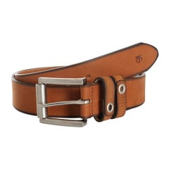 Titan Tan Leather Belt-TB159LM1TNS