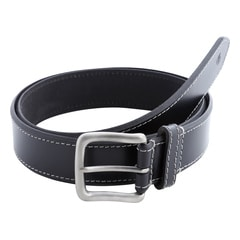 Titan Black Leather Belt-TB162LM1BKS