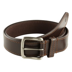 Titan Brown Leather Belt-TB162LM1BRS