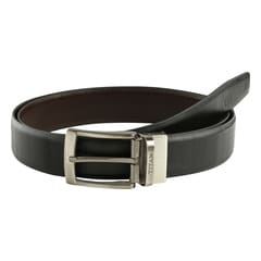 Belt Leather Rev Blk Tan TB166LM1R2L