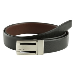 Titan Tan Leather Reversible Belt-TB167LM1R2M