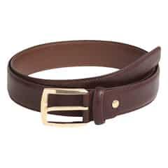 Titan Burgundy Leather Belt For Men-TB168LM1BYS