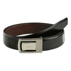 Titan Black-Brown Leather Belt for Men-TB172LM1R2L