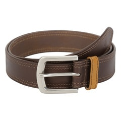 Titan Brown Leather Belt for Men