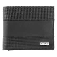Titan Leather Wallet for Men-TW107LM1BK