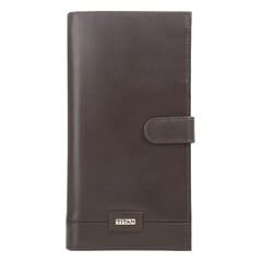 Titan Brown Leather Wallets for Men