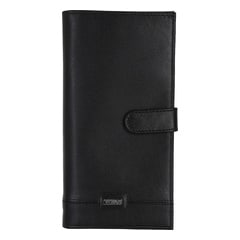 Titan Black Leather Wallet for Men