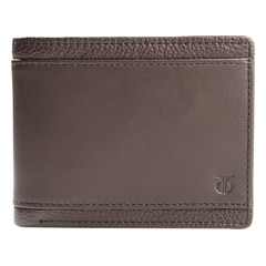 Titan Leather Brown Wallets for Men-TW162LM1BR