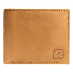 Titan Brown Leather Wallet for Men